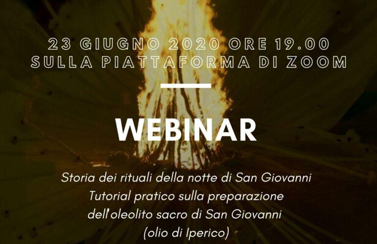 Webinar: La notte di San Giovanni