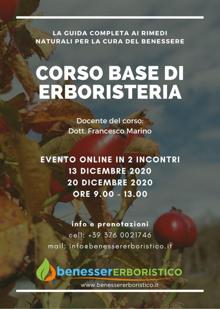 Corso Base Di Erboristeria Online Benessererboristico It