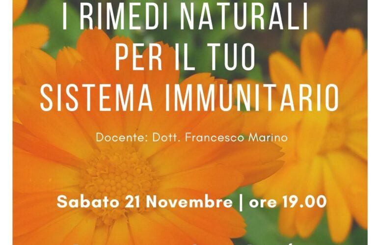 Webinar Live: I rimedi naturali per il tuo sistema immunitario