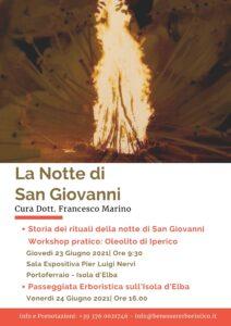 Workshop sulla realizzazione dell'oleolito di iperico e storia dei rituali della Notte di San Giovanni